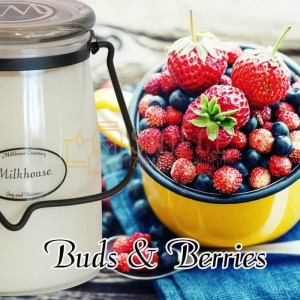 Milkhouse Candles BUDS & BERRIES Świeca Duża