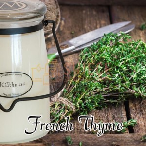 Milkhouse Candles FRENCH THYME Świeca Duża