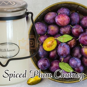Milkhouse Candles SPICED PLUM CHUTNEY Świeca Duża