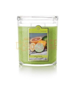 Colonial Candle Large Jar CITRUS WOODS