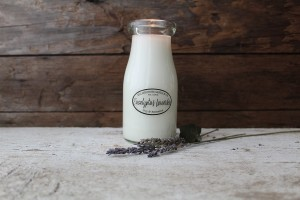 Milkhouse Candles EUCALYPTUS LAVENDER Milk Bottle