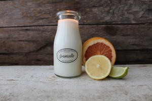 Milkhouse Candles LIMONCELLO Milk Bottle