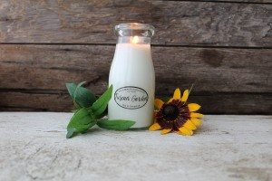 Milkhouse Candles TUSCAN GARDEN Milk Bottle