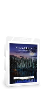 Classic Candle WEEKEND RETREAT Wax Melt