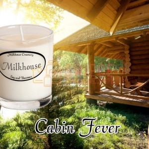 Milkhouse Candles CABIN FEVER Shot