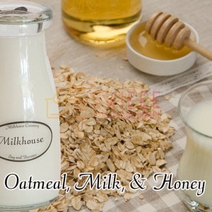Milkhouse Candles Oatmeal, Milk & Honey Milk Bottle