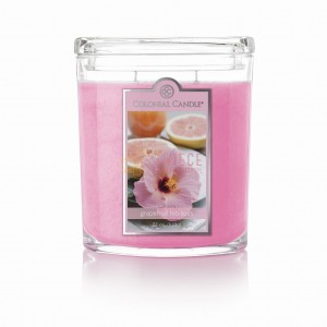 Colonial Candle Large Jar Grapefruit Hibiscus