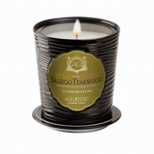 BAMBOO TEAKWOOD ~11 oz Large Soy LUXE Tin Candle