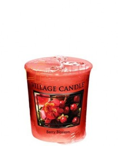 Village Candle Berry Blossom Votive