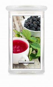 Classic Candle BLACKBERRY TEA 2 Wick Large Jar