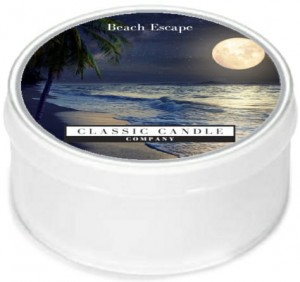 Classic Candle BEACH ESCAPE MiniLight