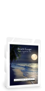 Classic Candle BEACH ESCAPE Wax Melt