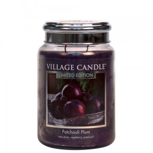 Village Candle Patchouli Plum Duża Świeca