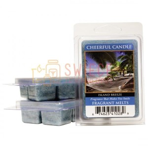Cheerful Candle Island Breeze Wosk