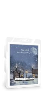 Classic Candle SNOWFALL Wax Melt