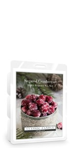Classic Candle SUGARED CRANBERRIES Wax Melt