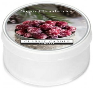 Classic Candle SUGARED CRANBERRIES MiniLight