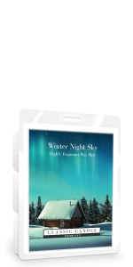 Classic Candle WINTER'S NIGHT SKY Wax Melt