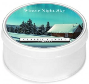 Classic Candle WINTER'S NIGHT SKY MiniLight