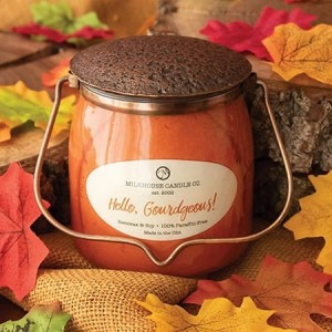 Milkhouse Candles HELLO, GOURDGEOUS! Wrapped Butter