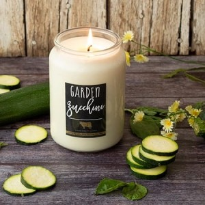 Milkhouse Candles GARDEN ZUCCHINI Farmhouse Jar