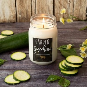 Milkhouse Candles GARDEN ZUCCHINI Mason Jar