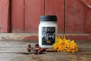 Milkhouse Candles HARVEST FESTIVAL Mason Jar