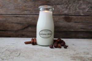 Milkhouse Candles WELCOME HOME Milk Bottle