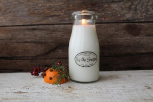 Milkhouse Candles TIS THE SEASON Milk Bottle