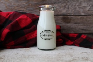 Milkhouse Candles CABIN FEVER Milk Bottle