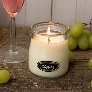 Milkhouse Candles CELEBRATE! Cream Jar