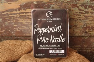 Milkhouse Candles PEPPERMINT PINE NEEDLE Wosk Duży