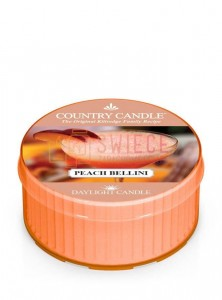 Country Candle PEACH BELLINI DayLights