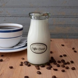 Milkhouse Candles COFFEE BREAK Milk Bottle