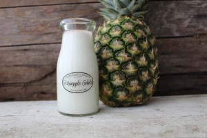Milkhouse Candles PINEAPPLE GELATO Milk Bottle