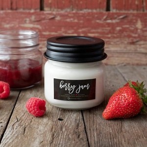 Milkhouse Candles BERRY JAM Mini Mason