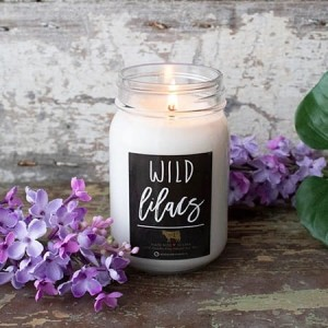 Milkhouse Candles WILD LILACS Mason Jar