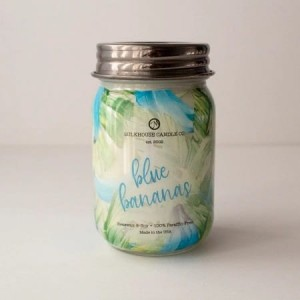 Milkhouse Candles BLUE BANANAS LE Mason
