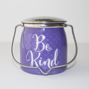 Milkhouse Candles BE KIND Sentiments Wrapped Butter