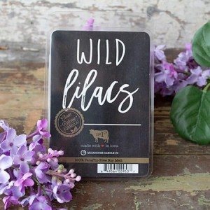 Milkhouse Candles WILD LILACS Wosk