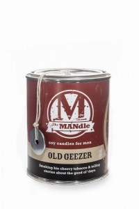 Eco Candle Co. OLD GEEZER Świeca The MANdle