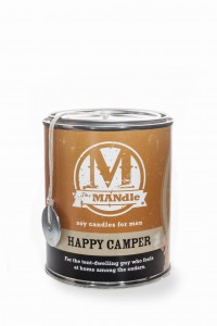 Eco Candle Co. HAPPY CAMPER Świeca The MANdle