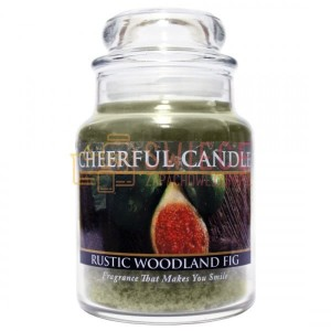 Cheerful Candle Rustic Woodland Fig Świeca Mała