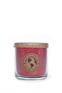 Eco Candle Co. STRAWBERRY RHUBARB Świeca Mała
