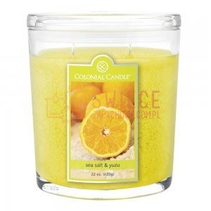 Colonial Candle Large Jar Sea Salt & Yuzu
