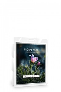 Classic Candle FLORAL MUSK SOY Wosk