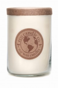 Eco Candle Co. WHITE TEA & GINGER Świeca Duża