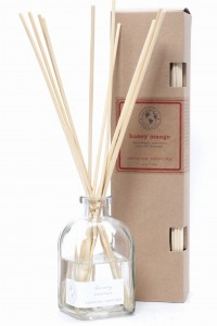 Eco Candle Co.  HONEY MANGO Reed Diffuser