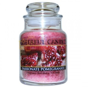 Cheerful Candle Passionate Pomegranate Świeca Mała