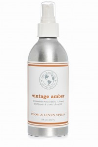 Eco Candle Co.  VINTAGE AMBER Room & Linen Spray